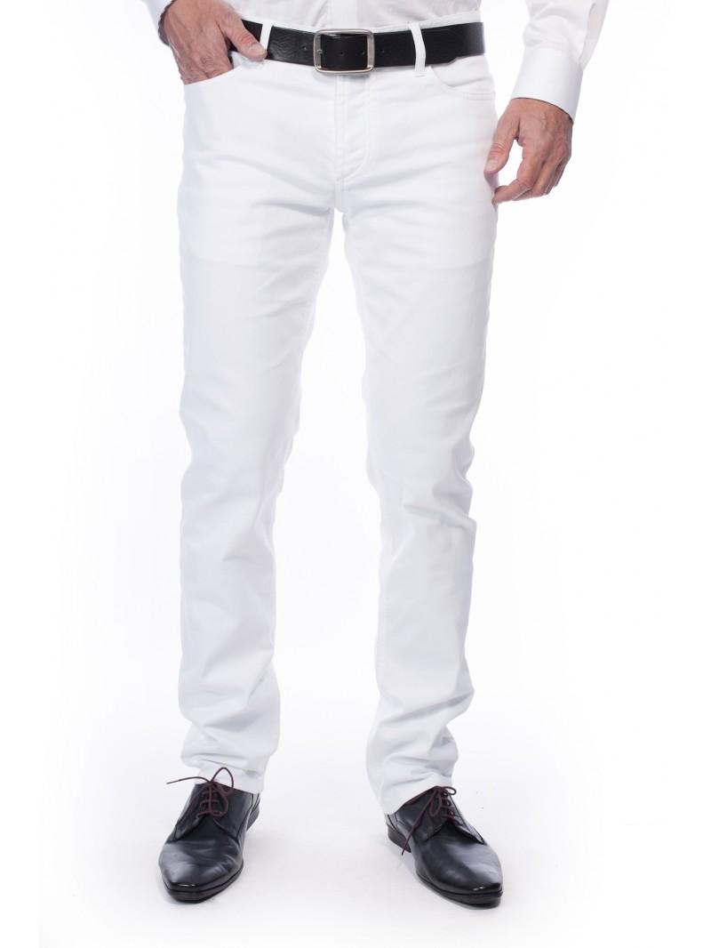 jean blanc homme mon slim de l 39 t. Black Bedroom Furniture Sets. Home Design Ideas