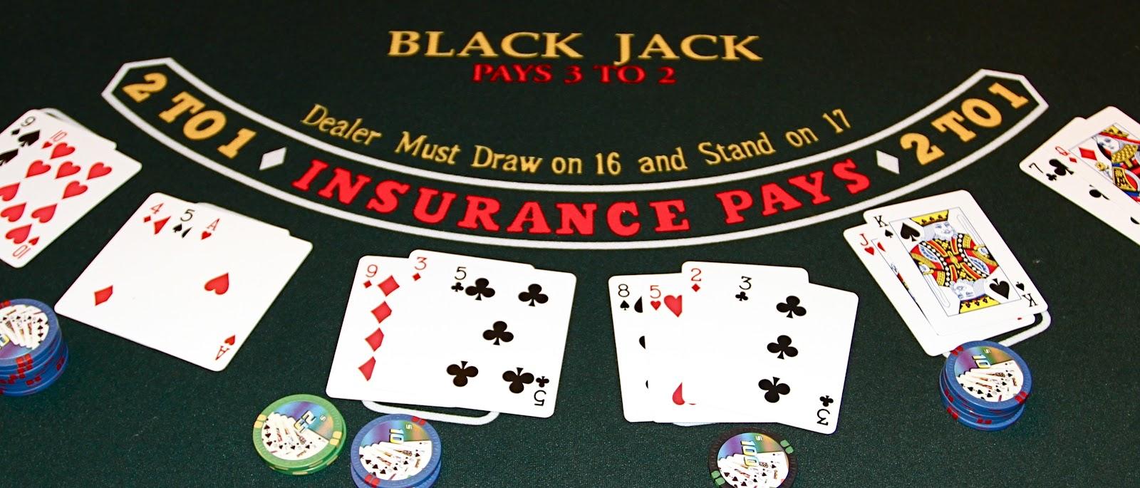 Blackjack, jeu de casino pour gagner de l'argent
